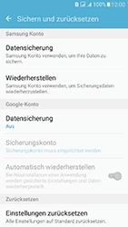 Samsung J510 Galaxy J5 (2016) DualSim - Fehlerbehebung - Handy zurücksetzen - Schritt 7