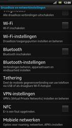 Sony LT22i Xperia P - netwerk en bereik - gebruik in binnen- en buitenland - stap 5