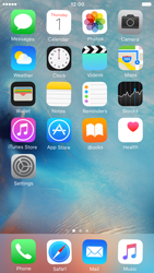 Apple iPhone 6s - Getting started - Personalising your Start screen - Step 3