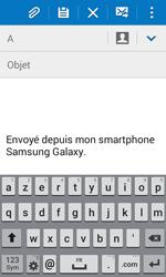 Samsung J100H Galaxy J1 - E-mail - envoyer un e-mail - Étape 4