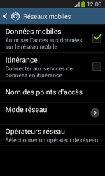 Samsung S7275 Galaxy Ace 3 - Réseau - utilisation à l'étranger - Étape 14