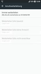 HTC 10 - Android Nougat - Anrufe - Rufumleitungen setzen und löschen - Schritt 8