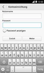 Huawei Ascend Y330 - E-Mail - Konto einrichten - Schritt 17