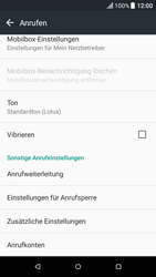 HTC One A9 - Android Nougat - Anrufe - Rufumleitungen setzen und löschen - Schritt 5
