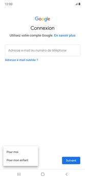Samsung Galaxy Note 10+ - Applications - Créer un compte - Étape 6
