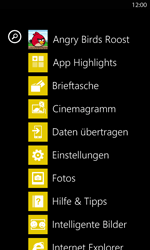 Nokia Lumia 820 LTE - Internet - Manuelle Konfiguration - Schritt 3
