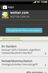 HTC A310e Explorer - Apps - Herunterladen - Schritt 14