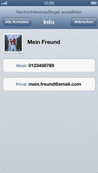 Apple iPhone 5 - MMS - Erstellen und senden - Schritt 8