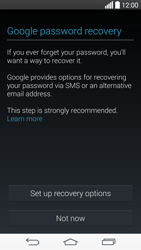 LG G3 - Applications - Setting up the application store - Step 12