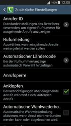Samsung I9301i Galaxy S III Neo - Anrufe - Rufumleitungen setzen und löschen - Schritt 7