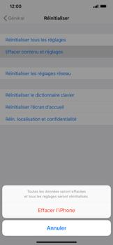 Apple iPhone XR - Aller plus loin - Restaurer les paramètres d'usines - Étape 6