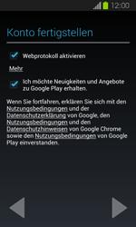 Samsung Galaxy Express - Apps - Einrichten des App Stores - Schritt 16