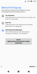 Sony Xperia XZ2 Compact - E-Mail - Konto einrichten - Schritt 20