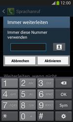 Samsung S7275 Galaxy Ace 3 - Anrufe - Rufumleitungen setzen und löschen - Schritt 10