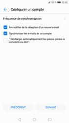 Huawei P9 Lite - Android Nougat - E-mail - Configuration manuelle - Étape 19