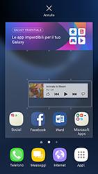 Samsung Galaxy S7 Edge - Android N - Operazioni iniziali - Installazione di widget e applicazioni nella schermata iniziale - Fase 7
