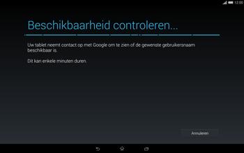 Sony Xperia Tablet Z2 4G (SGP521) - Applicaties - Account aanmaken - Stap 10
