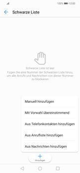 Huawei Mate 20 Lite - Anrufe - Anrufe blockieren - 8 / 12