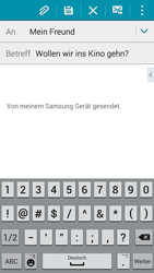 Samsung Galaxy A3 - E-Mail - E-Mail versenden - 9 / 21