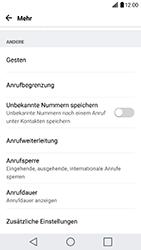 LG G5 SE (H840) - Android Nougat - Anrufe - Rufumleitungen setzen und löschen - Schritt 5