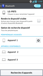 LG P875 Optimus F5 - Bluetooth - connexion Bluetooth - Étape 11