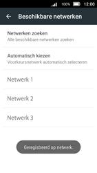 Doro 8031 - Netwerk - Handmatig netwerk selecteren - Stap 15