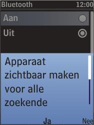 Nokia C2-05 - bluetooth - aanzetten - stap 8