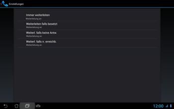 Asus Padfone 2 - Anrufe - Rufumleitungen setzen und löschen - Schritt 10
