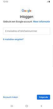 Samsung galaxy-s9-plus-sm-g965f-android-pie - Applicaties - Account aanmaken - Stap 5