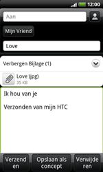 HTC A7272 Desire Z - E-mail - E-mails verzenden - Stap 10