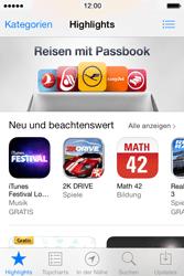 Apple iPhone 4 S mit iOS 7 - Apps - Konto anlegen und einrichten - Schritt 14