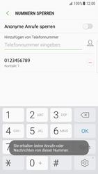 Samsung Galaxy S7 Edge - Anrufe - Anrufe blockieren - 1 / 1