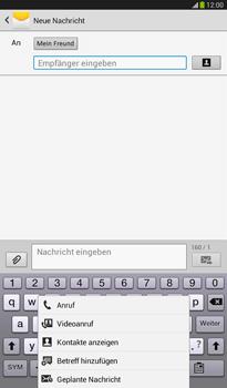 Samsung T211 Galaxy Tab 3 7-0 - MMS - Erstellen und senden - Schritt 12