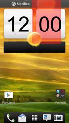 HTC One S - Operazioni iniziali - Installazione di widget e applicazioni nella schermata iniziale - Fase 8