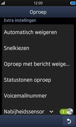 Samsung S8600 Wave 3 - Voicemail - handmatig instellen - Stap 5