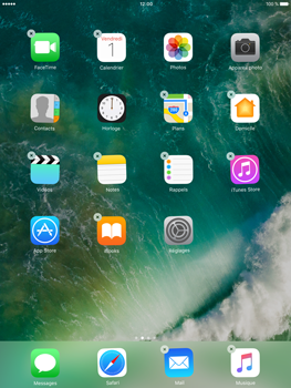 Apple iPad Mini 3 iOS 10 - iOS features - Supprimer et restaurer les applications iOS par défaut - Étape 3