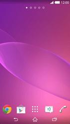 Sony Xperia Z2 - Operazioni iniziali - Installazione di widget e applicazioni nella schermata iniziale - Fase 10