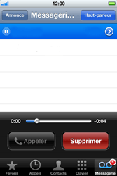 Apple iPhone 3G - Messagerie vocale - Visual Voicemail - Étape 3