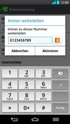 LG G2 - Anrufe - Rufumleitungen setzen und löschen - Schritt 8