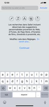Apple iPhone XS Max - Internet - Navigation sur Internet - Étape 3