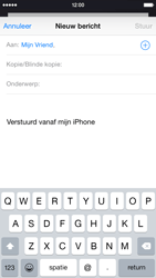 Apple iPhone 6 iOS 8 - E-mail - E-mail versturen - Stap 6