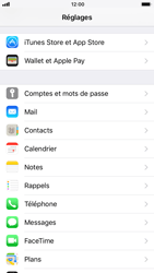 Apple iPhone 8 - E-mail - Configuration manuelle (yahoo) - Étape 3