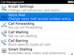 BlackBerry 9780 Bold - Voicemail - Manual configuration - Step 5