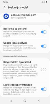 Samsung galaxy-a8-2018-sm-a530f-android-pie - Beveiliging en ouderlijk toezicht - Zoek mijn mobiel inschakelen - Stap 9
