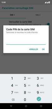 Wiko View 2 Plus - Sécurité - modifier SIM PIN - Étape 10