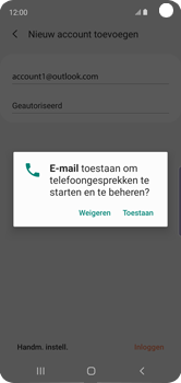 Samsung galaxy-s10e-dual-sim-sm-g970f - E-mail - 032c. Email wizard - Outlook - Stap 11