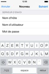 Apple iPhone 4 S iOS 7 - E-mail - Configuration manuelle - Étape 13