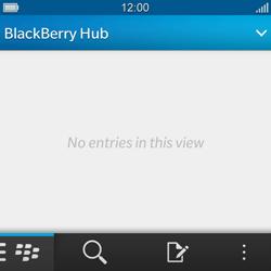 BlackBerry Q10 - E-mail - Sending emails - Step 3