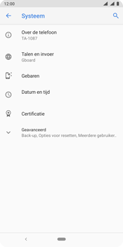 Nokia 9 - Data - Maak een back-up met je account - Stap 5