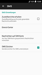 HTC U Play - SMS - Manuelle Konfiguration - Schritt 8
